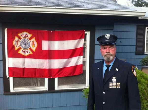 Retired New York City Fire Dept. member Daniel