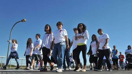 An estimated 1,500 people participate in Long Island's