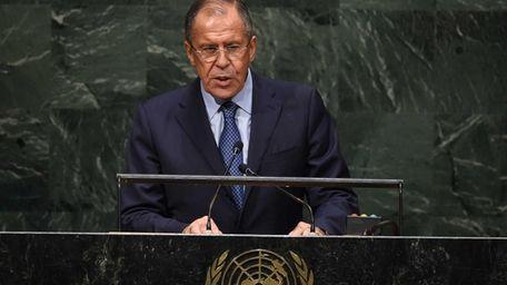 Sergey V. Lavrov, Minister for Foreign Affairs of