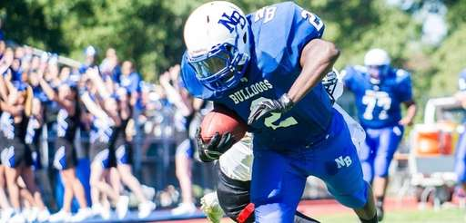 North Babylon running back Jahjuan Winters is taken
