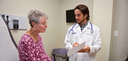 Dr. Jake Deutsch, owner of Cure Urgent Care,
