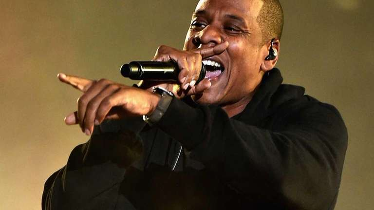 Jay Z performs onstage at the 2014 Global