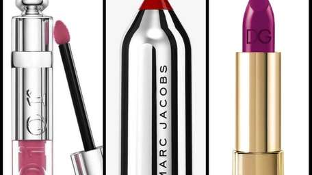 New lipsticks from Dior, Marc Jacobs and Dolce