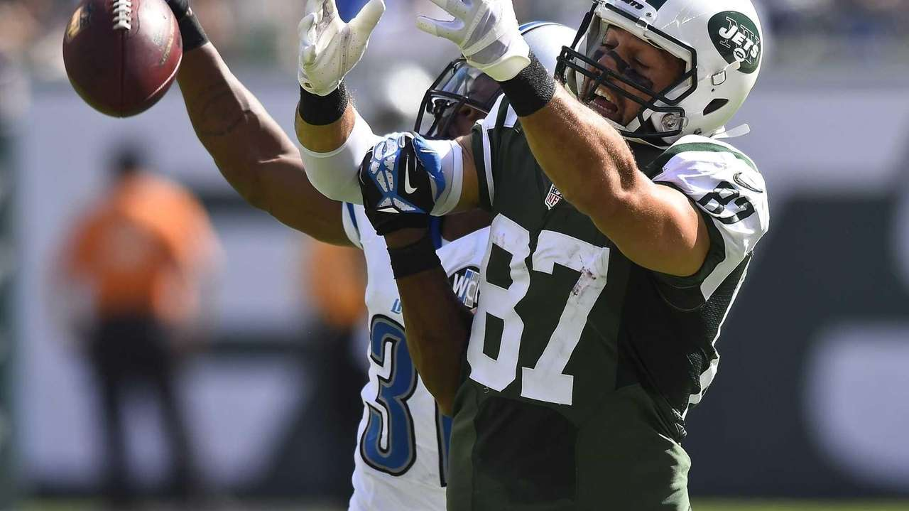 New York Jets wide receiver Eric Decker (87)