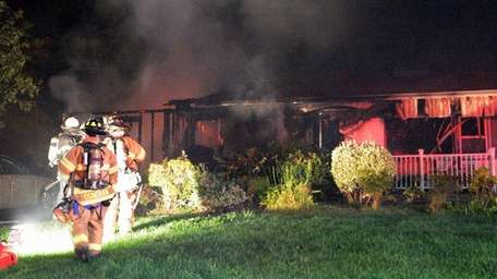 Arson squad detectives are investigating the cause of