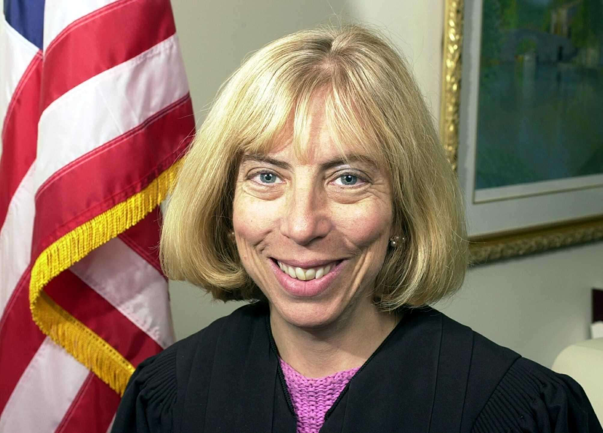 Suffolk Supreme Court Justice Emily Pines, elected to the Supreme Court in 2001 with the backing of the Republican, Conservative, Independence and Right to Life lines. Credit: Jim Peppler