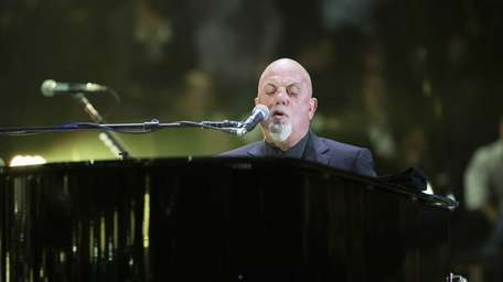 Billy Joel performs, as he has been doing