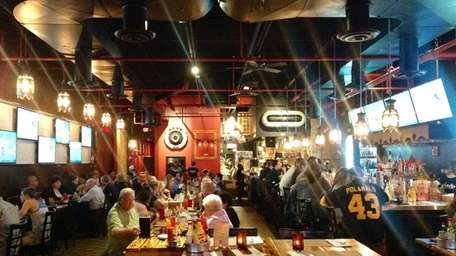 New large-screen TVs at BBD's - Beers Burgers