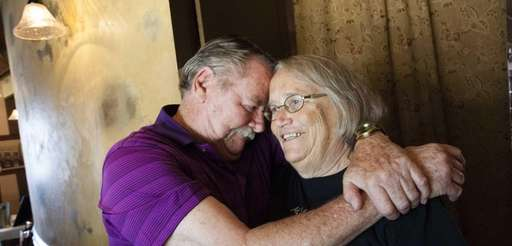 Tom Maher, 74, and his wife Diane Maher,