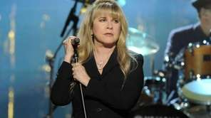 Stevie Nicks performs at the Rock and Roll