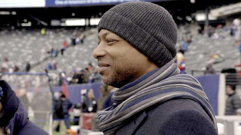 Giants general manager Jerry Reese appears in a
