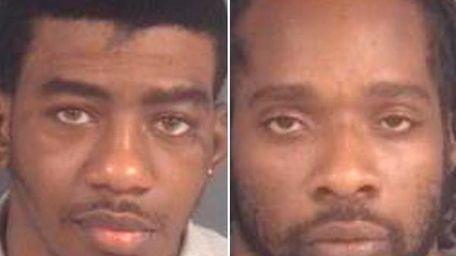 Deshavonte Kemp, 19, left, and Carlos Jacob Engle,