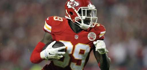 Kansas City Chiefs free safety Husain Abdullah carries