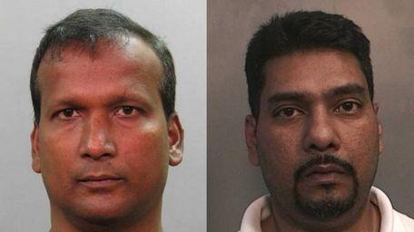 Praimchand Seecharan, 46, of Richmond Hill, left, and
