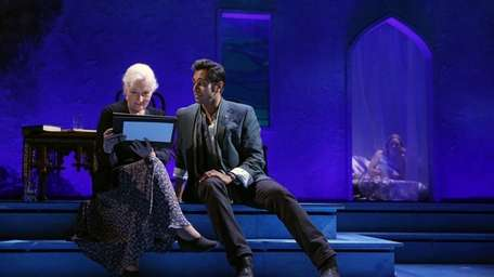 Rosemary Harris and Bhavesh Patel in