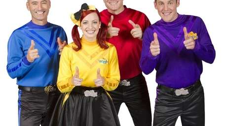 The Wiggles come to the NYCB Theatre to