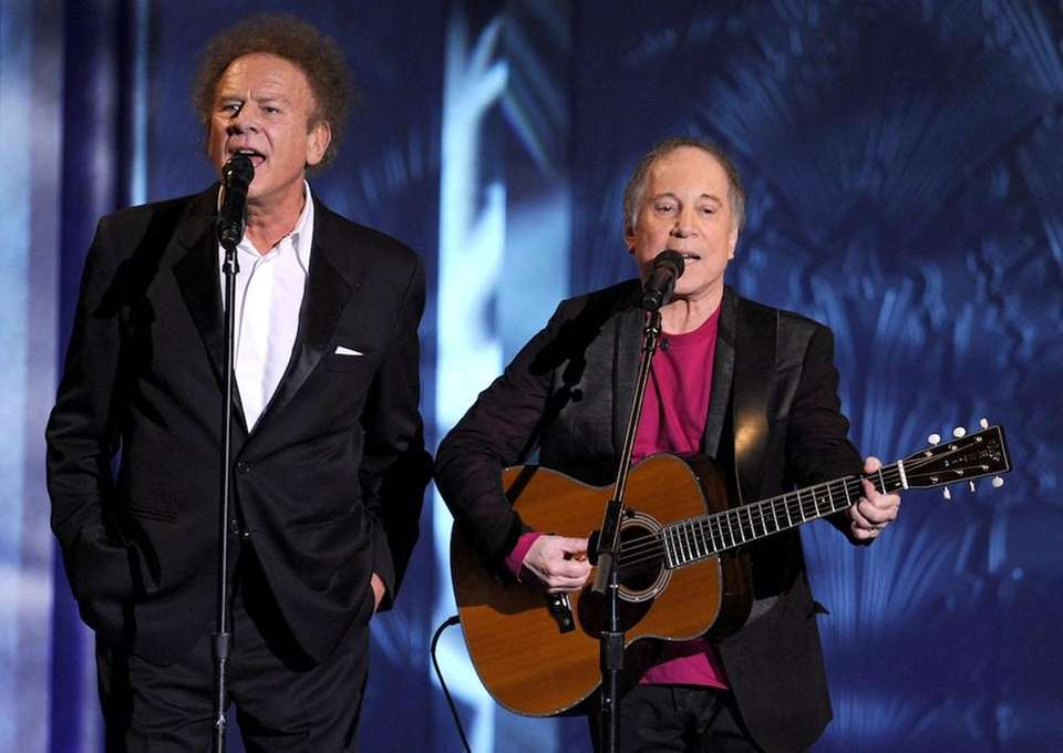 Who: Simon and Garfunkel Best known for: Being