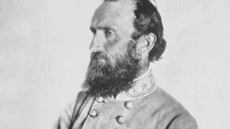 Confederate general Stonewall Jackson, photographed less than two