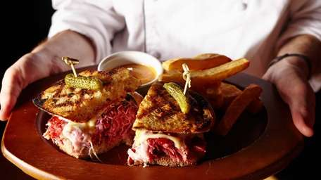 The Lower East Side sandwich at True American
