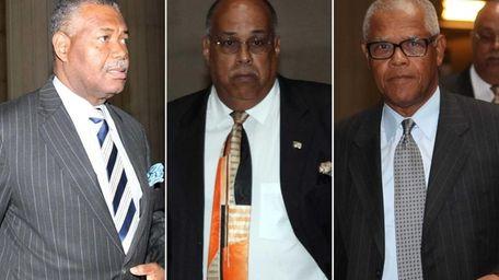 Former Nassau County legislators Patrick Williams and Roger