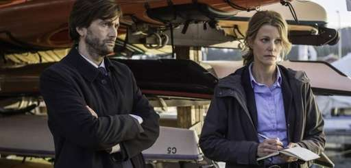 This photo released by Fox shows David Tennant,