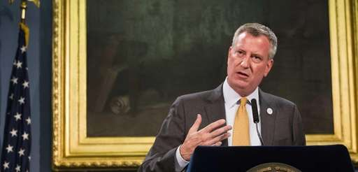Mayor Bill de Blasio is abandoning his predecessor's