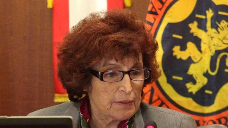 Nassau County Presiding Officer Norma Gonsalves (R-East Meadow)