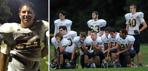 Shoreham-Wading River football player Tom Cutinella died after