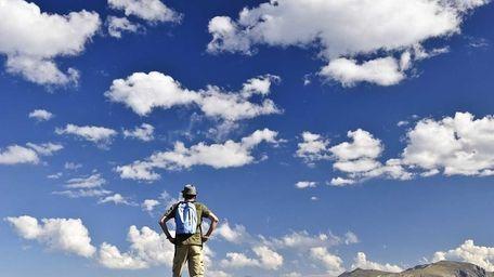 Rocky Mountain National Park, along Trail Ridge Road,