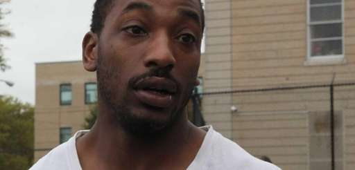 Antonio Webb, 22, of Long Beach, leaves Nassau