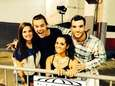 One Direction fan Bradley Chisenhall, right, poses with