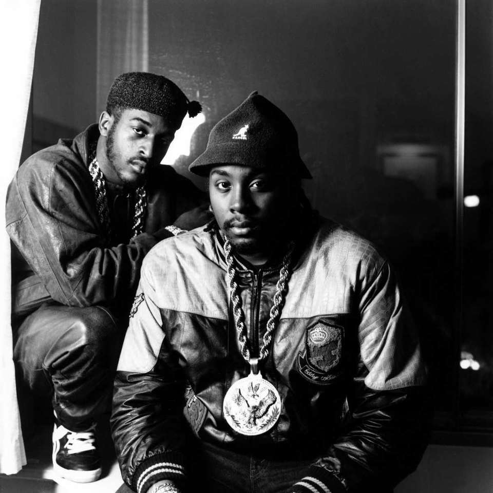 Who: Eric B and Rakim Best known for: