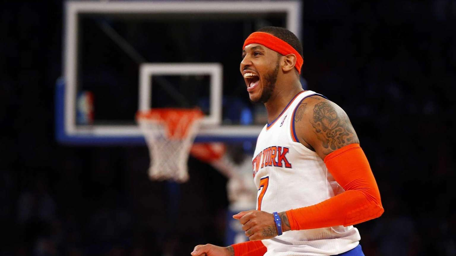 Melo stays