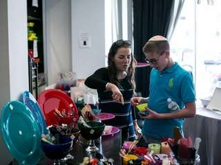 Hadassah Weiss, 20, of Israel and Avi Kushner,