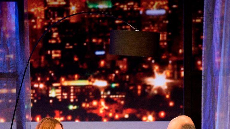 Lindsay Lohan as Karen and Richard Schiff as