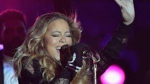 Mariah Carey perform during the World Music Awards