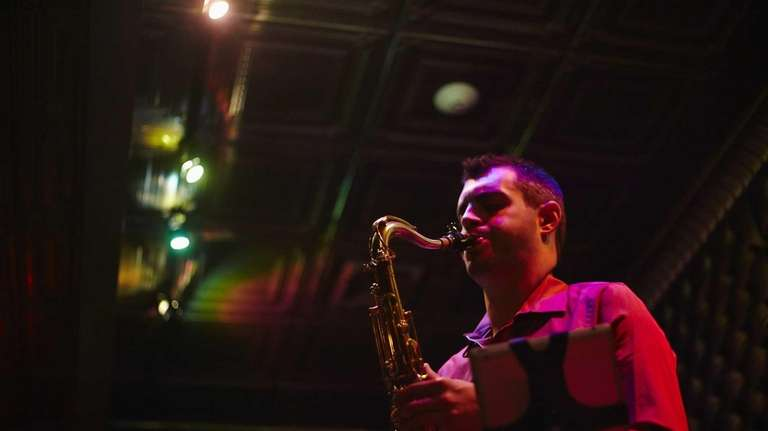 The joy of sax, as performed by Tim