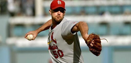 Starting pitcher Adam Wainwright of the St. Louis