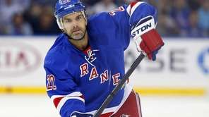 Dan Boyle of the Rangers skates in the