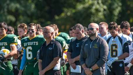 Players and coaches for both Ward Melville and