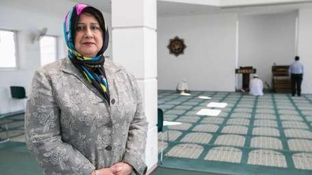 Isma Chaudhry, the first woman elected president of