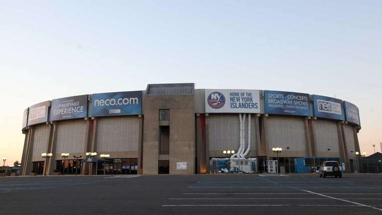 The Nassau Coliseum on Sunday, Oct. 5, 2014,