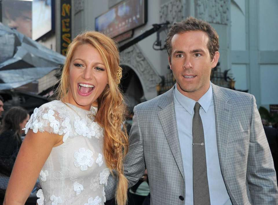 Blake Lively and Ryan Reynolds, married since September