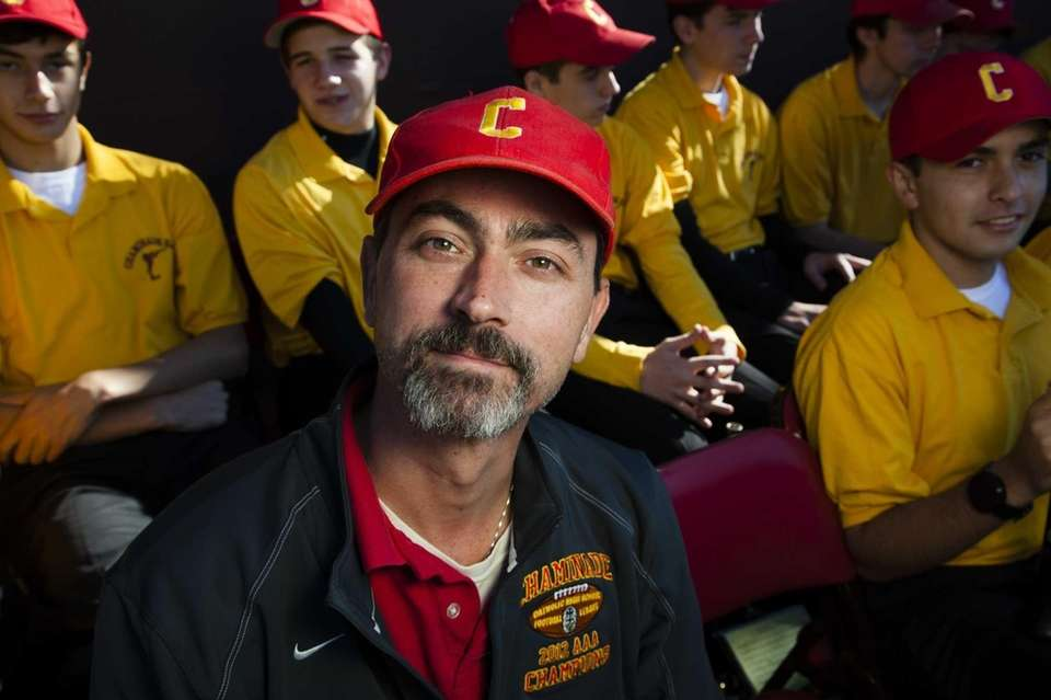 Chaminade's Tom Cassidy, 39, of Bayside, director of