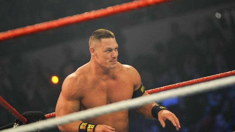 WWE Superstar John Cena is one of the