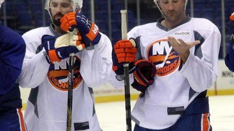 Islanders newest defensemen Nick Leddy and Johnny Boychuk