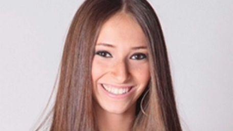 Alexandra Tobin, 17, a senior at Half Hollow