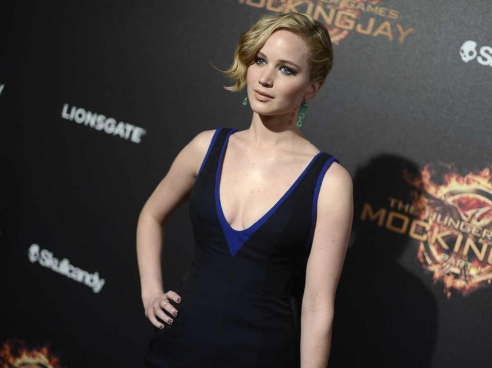 "Jennifer Lawrence at the ""Hunger Games: Mockingjay -"