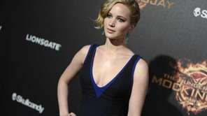 Jennifer Lawrence at the