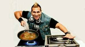 DJ Chef Marc Weiss is an entertainer who